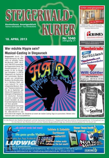 Ausgabe 1040 - Steigerwald-Kurier