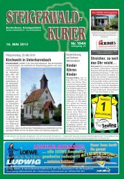 Ausgabe 1044 - Steigerwald-Kurier