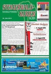 Ausgabe 1054 - Steigerwald-Kurier