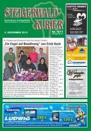 Ausgabe 1071 - Steigerwald-Kurier