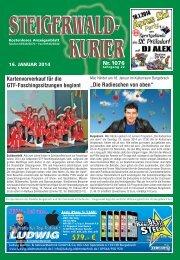 Ausgabe 1076 - Steigerwald-Kurier