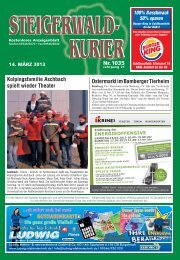 Ausgabe 1035 - Steigerwald-Kurier