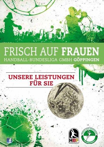 FRISCH AUF FRAUEN Sponsorenheft 2014