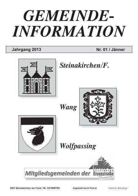 Steinakirchen am forst anzeigen bekanntschaften