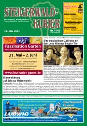 Ausgabe 1045 - Steigerwald-Kurier
