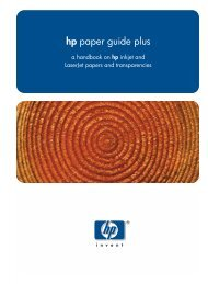 hp paper guide plus - OMEGA