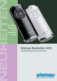 Steinau-Neuheiten 2013 als PDF (2,3 MB)