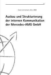 Ausbau und Strukturierung der internen Kommunikation der ...