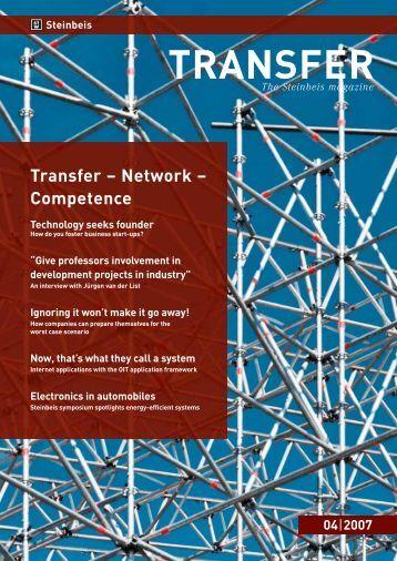 TRANSFER - Steinbeis Business Academy