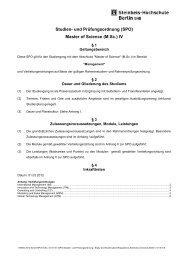 (SPO) Master of Science (M.Sc.) IV - School of International ...