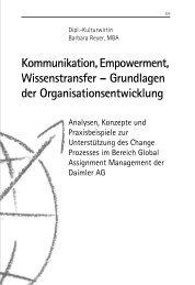 Grundlagen der Organisationsentwicklung - School of International ...