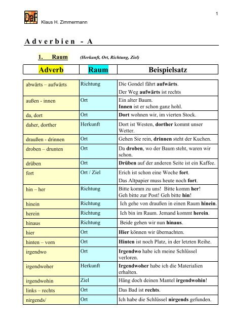 German Adverbial Clauses Learn German With Language Easy Org 5