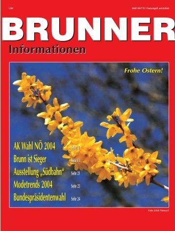 Brunner Semesterferienspiel 2004 - Franz Steindler