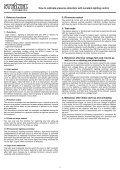 Calibration Description - Steinel - Seite 3
