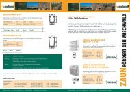Zaunprospekt 2009.pdf - Weyland GmbH