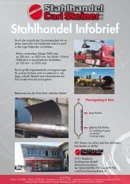 Infobrief downloaden - Carl Steiner