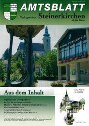 Folge x/2005 - Marktgemeinde Steinerkirchen an der Traun