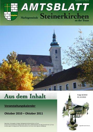 Oktober 2011 - Marktgemeinde Steinerkirchen an der Traun