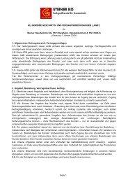 Liefer- und Zahlungsbedingungen Haustechnik KG