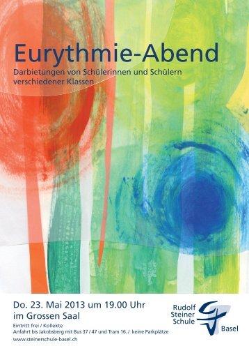 Plakat Cavaliere 12b.indd - Rudolf Steiner Schule Basel