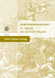 Frühe Neuzeit 2013.indd - Franz Steiner Verlag