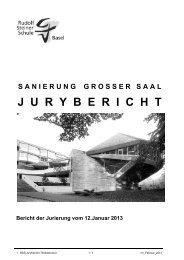 J  U  R  Y  B  E  R  I  C  H  T - Rudolf Steiner Schule Basel