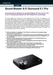 Sound Blaster X-Fi Surround 5.1 Pro - Mercateo
