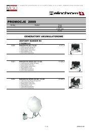 Elinca 2009 Promocja Ranger RX - Milso