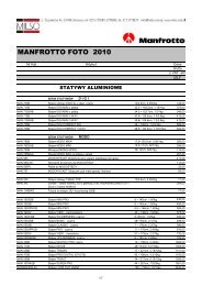 Manfrotto Nord Foto 2010 - Milso