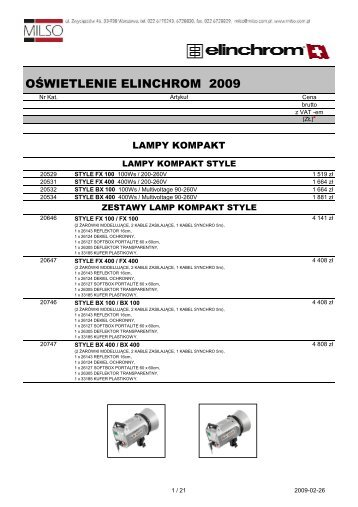 Elinca 2009 - Milso