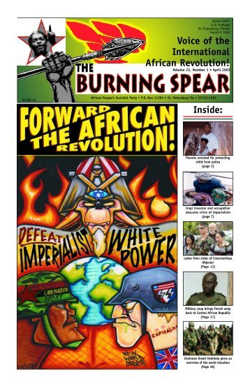 Voice of the International African Revolution! - Uhuru News