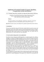 Application of Fractional Calculus in Genetic Algorithms ...