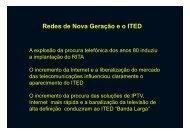 ITED/ITUR -Nova Geração