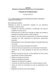 Proposta de Tese/Dissertação