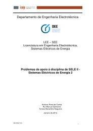 Departamento de Engenharia Electrotécnica