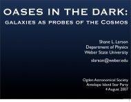 Talk (PDF) - Physics Department