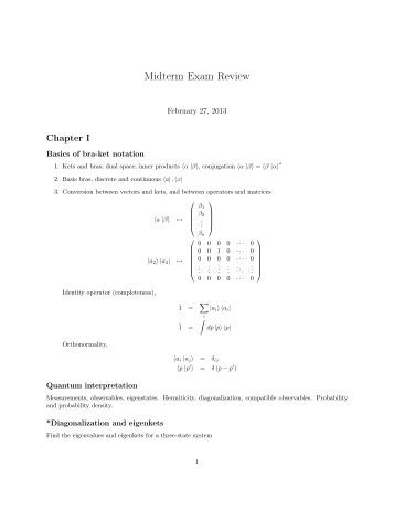 physics 1 midterm exam review 2 Department of physics physics(2): midtermexam monday 02nd may 2011 ad, 28th jumada al-awwal 1432 ah 16:00 am to 18:00 am duration of exam: two hours answer allquestions in the answer sheet  each multiple-choice question is marked out of 1 the total mark for this exam is 20.