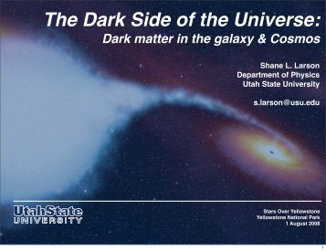 Talk (PDF) - Physics Department - Utah State University