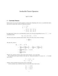 on irreducible tensor operators and a different proof of the Wigner ...