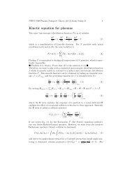 Landau (Fokker-Planck) kinetic equation