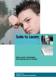 Safe to Learn-Embedding Anti-Bullying work in - Equality Cumbria