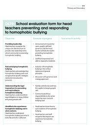 Dl19: School evaluation form for head teachers ... - Schools Out