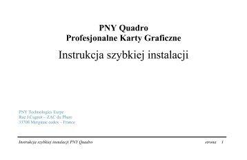 PNY Quadro - Servodata