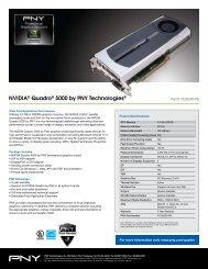 NVIDIA® Quadro® 5000 by PNY Technologies® - Servodata