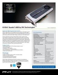 NVIDIA® Quadro® 6000 by PNY Technologies®