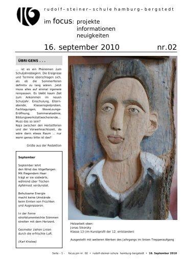 16. september 2010 nr.02 - Rudolf Steiner Schule in den Walddörfern