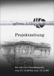 Die Projektzeitung 4.2008 - Rudolf Steiner Schule in den Walddörfern