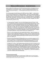 Medienmitteilung lesen - Rudolf Steiner Schulen der Schweiz