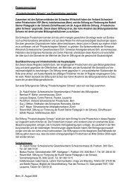 Bericht lesen - Rudolf Steiner Schulen der Schweiz