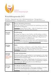 Programm - Rudolf Steiner Schulen der Schweiz